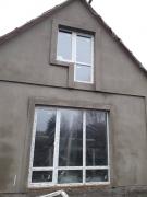 Установка окон Steko и входных дверей в доме